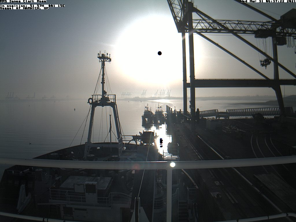 Latest RRS James Clark Ross webcam image
